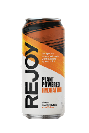 REJOY Tangerine is a natural, refreshing, and energizing hydration drink. It's charged with 75 mg of natural caffeine from Yerba Mate. Made with only seven plant-based ingredients, you can rehydrate and recover from training and everyday workouts with the cleanest, simplest, and most effective recovery drink we know.