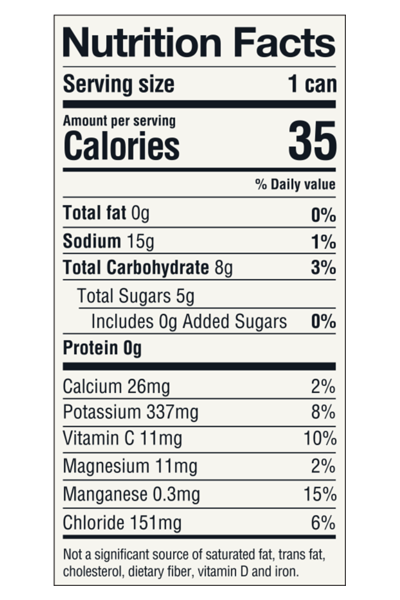 Rejoy | Mixed Berries Nutrition Facts